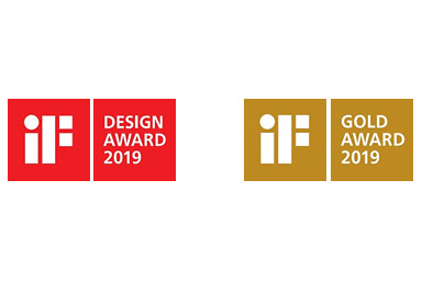 [Logo]iF DESIGN AWARD 2019 / iF GOLD AWARD 2019