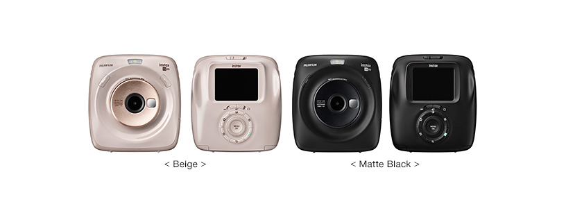 "[Photo]Fujifilm launches new Hybrid Instant Camera ""instax SQUARE SQ20"" <Beige> < Matte Black>"