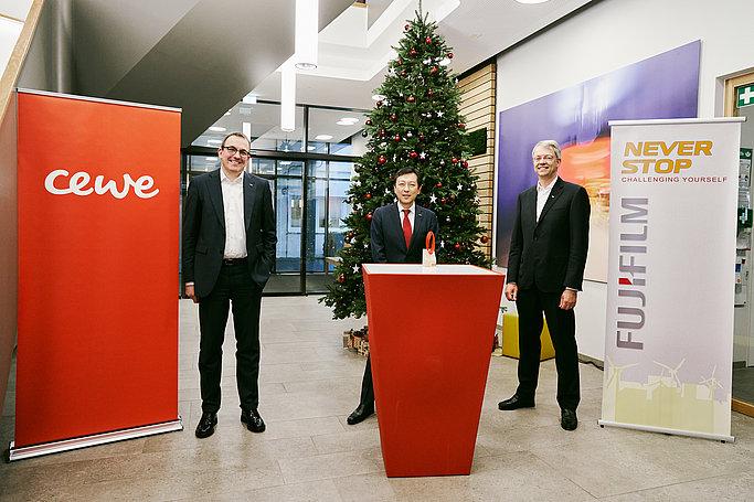FUJIFILM wins CEWE Supplier Sustainability award