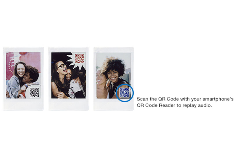[Photo]Scan the QR Code with your smartphone's QR Code Reader to replay audio.