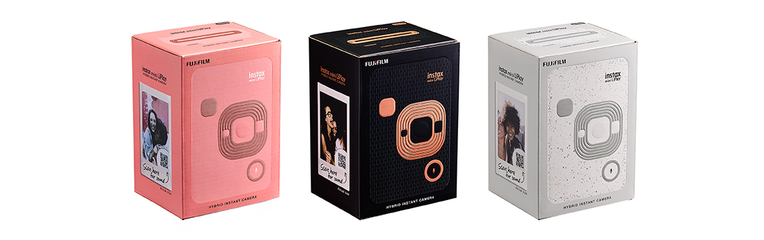 "[image]4) Hybrid instant camera ""instax mini LiPlay"" packaging"