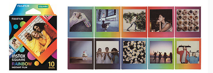 instax SQUARE Rainbow film