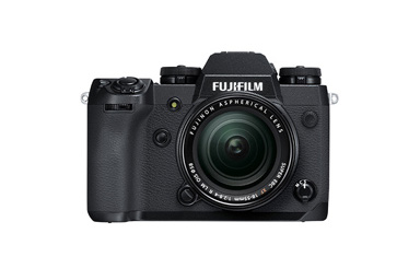 "[Photo]Mirrorless digital camera ""FUJIFILM X-H1"""