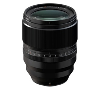 """[image]Interchangeable lens for X series digital cameras""""FUJINON Lens XF50mmF1.0 R WR"""""""