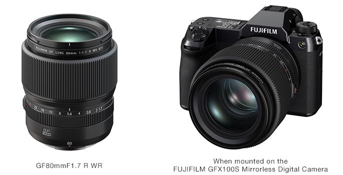 FUJINON Lens GF80mmF1.7 R WR