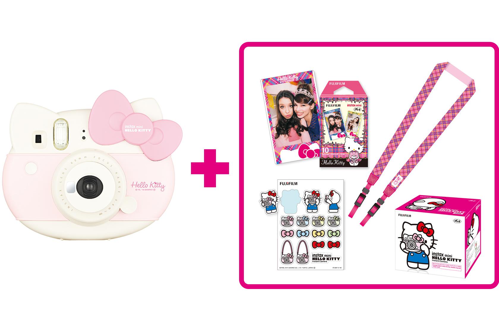[photo] Instax mini Hello Kitty Camera in white plus accessories
