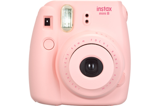 [photo] Instax Mini 8 camera in Pink
