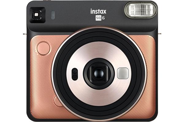 [photo] Instax SQUARE SQ20 camera in Blush Gold