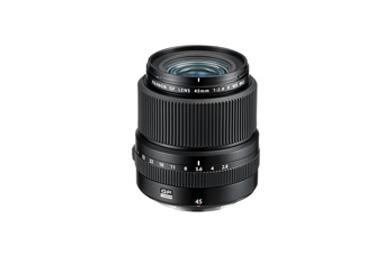 "[Photo]Interchangeable lens for medium-format mirrorless digital camera GFX Series ""FUJINON GF45mmF2.8 R WR"""