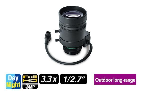 [photo] YV3.3x15SR4A-2 /  SA2L varifocal lens upright