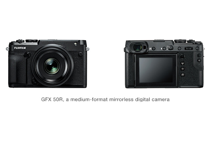 [Photo]GFX 50R, a medium-format mirrorless digital camera