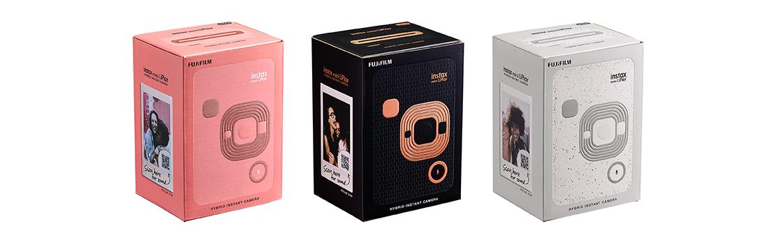 "[image]4) Hybrid instant camera ""instax mini LiPlay"" packaging"