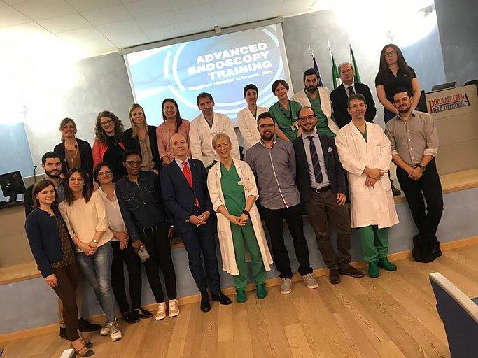 Il team Gastroendoscopia ASST Crema