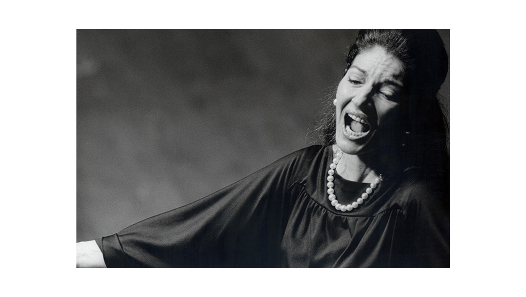 Maria Callas マリア・カラス 1974年10月27日 東京文化会館 写真:木之下 晃 ©Kinoshita Akira Archives