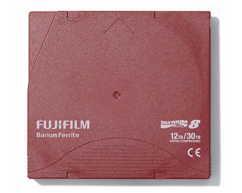 ②磁気テープストレージメディア 「FUJIFILM LTO Ultrium8 データカートリッジ」