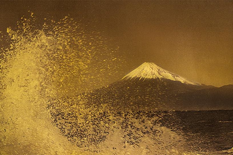 [写真]Hommage to Hokusai ©Mineko Orisaku