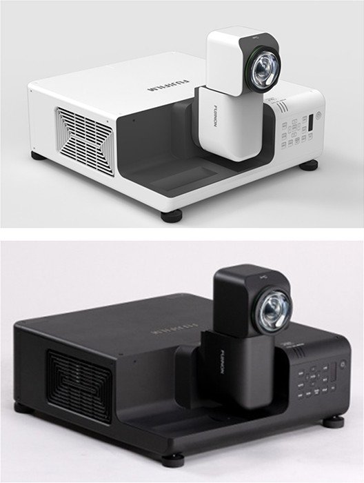 "[image]Ultra-short throw projector ""FUJIFILM PROJECTOR Z8000"""