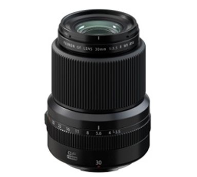 "[image]Interchangeable lens for GFX series digital cameras ""FUJINON Lens GF30mmF3.5 R WR"""