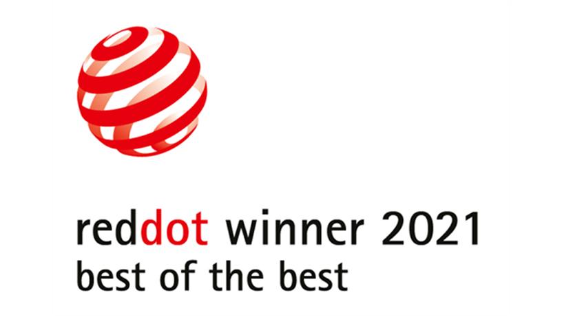 [ロゴ]reddot winner 2021 best of the best