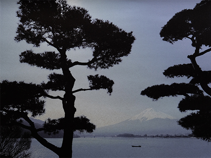 [写真]Pine and Mt.Fuji (Kawaguchi-ko Lake) ©Mineko Orisaku