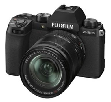 [画像]ミラーレスデジタルカメラ「FUJIFILM X-S10」