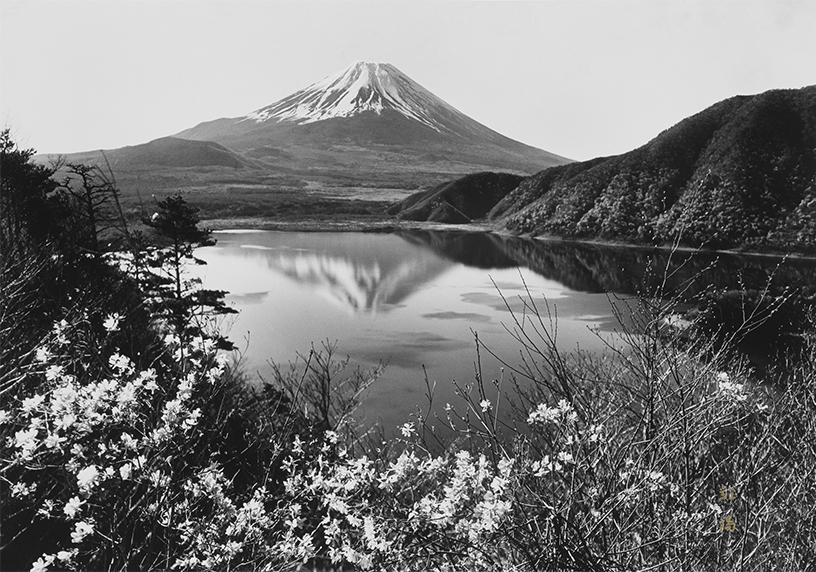 [画像]「湖畔の春」撮影:岡田紅陽 収蔵:岡田紅陽写真美術館