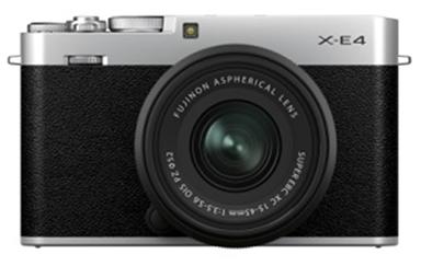 [画像]ミラーレスデジタルカメラ「FUJIFILM X-E4」
