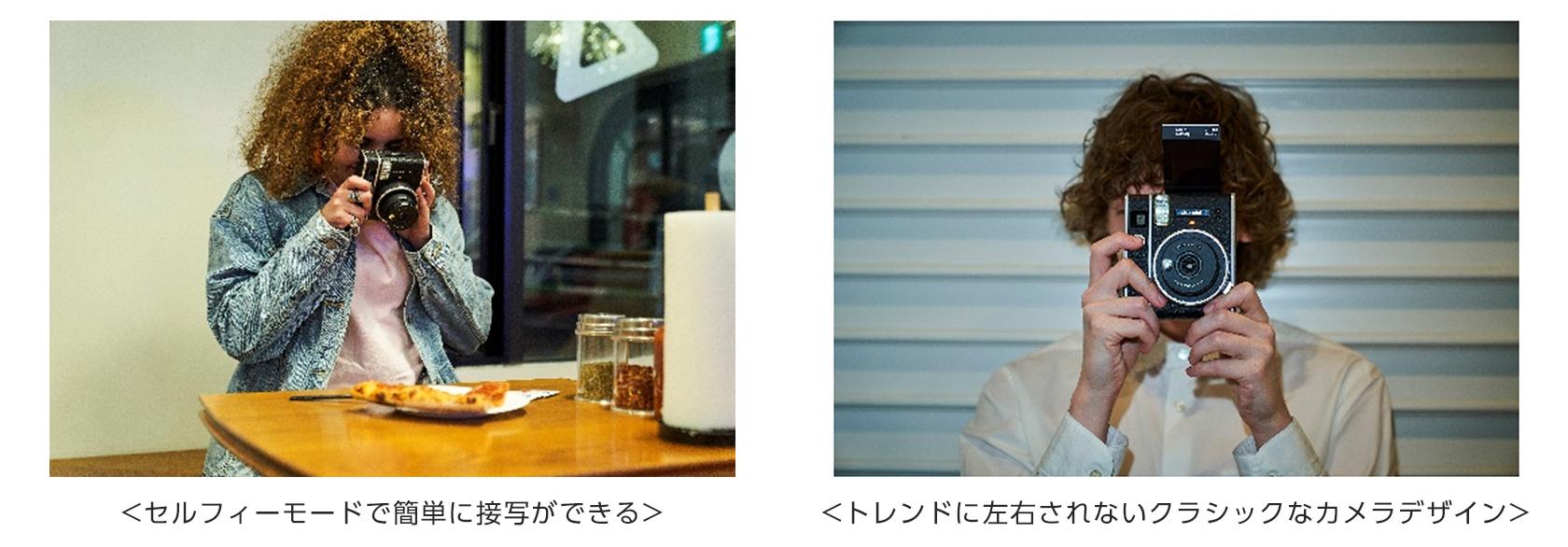 [画像]セルフィーモードで簡単に接写ができる/トレンドに左右されないクラシックなカメラデザイン