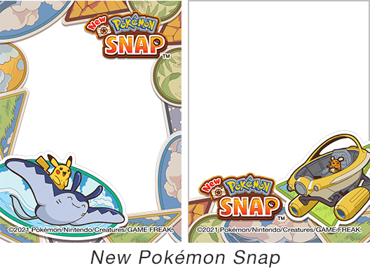[image]Frame designs samples New Pokémon Snap