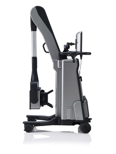 "[image]Compact digital X-ray cart system  ""FUJIFILM DR CALNEO AQRO""   (Product name in Europe: ""FDR nano"")"