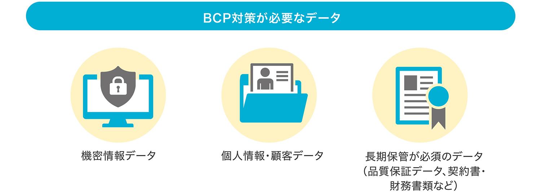 BCP対策が必要なデータとは