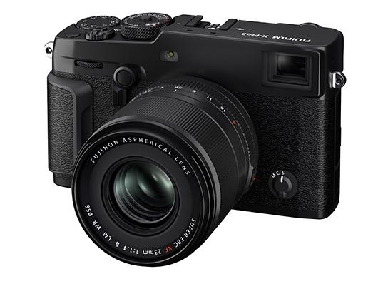 [画像]ミラーレスデジタルカメラ「FUJIFILM X-Pro3」装着時