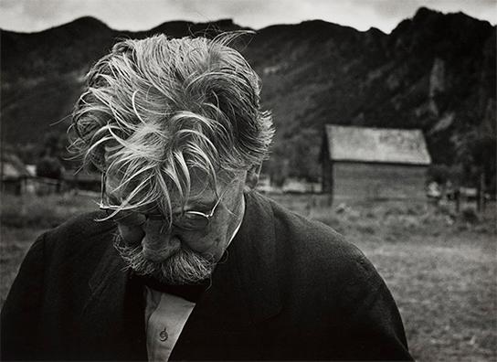[画像]W. ユージン・スミス 《アルベルト・シュヴァイツァー, コロラド州アスペン》1949年 © 1949, 2021 The Heirs of W. Eugene Smith 所蔵:京都国立近代美術館