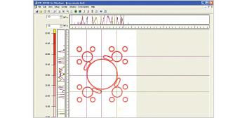 [image] Software screenshot of FPD-8010E cross section