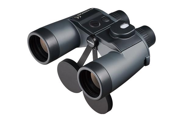 [사진] 상부에 나침반이 있는 7 × 50 WPC-XL 블랙 쌍안경