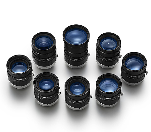 [photo] HF-HA-1S Series lenses standing upright and grouped together in a circle