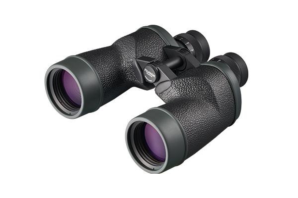[사진] 엠보싱 처리된 블랙 바디의 7×50MT-SX 쌍안경