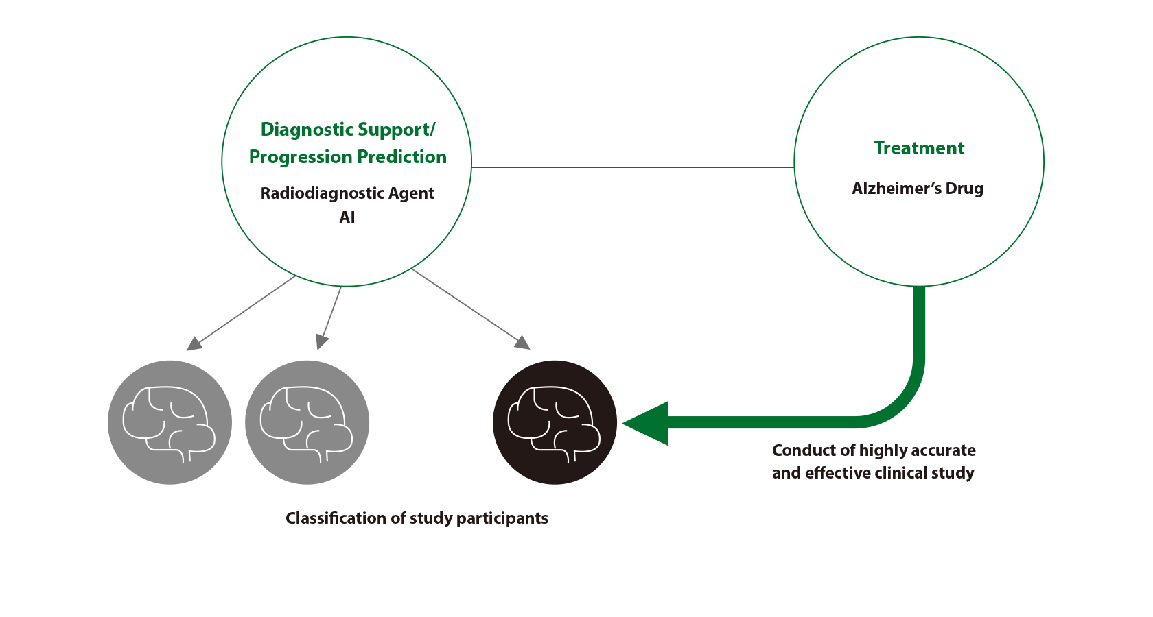 [image] Diagnostic Support and Treatment combining to promote success of drug development