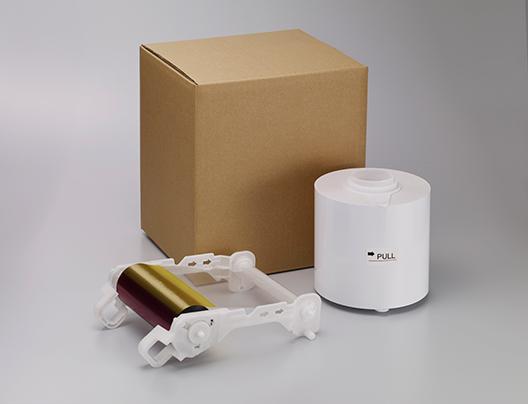 [photo] 리본 교체 및 백색 용지 롤 교체의 판지 상자