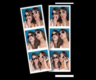 [photo] 선글라스를 착용한 두 소녀의 부스 사진
