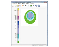 [사진]전용 소프트웨어가 설치된 PC에서 분석합니다.