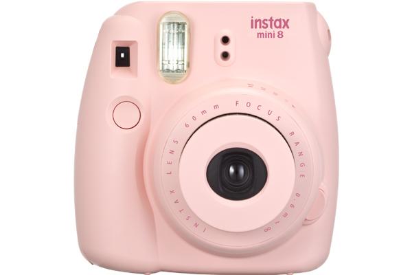 [photo] Instax Mini 8 in Pink