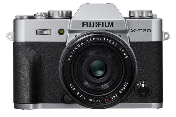 [photo] Fujifilm X-T20 System Digital Camera - Silver and black