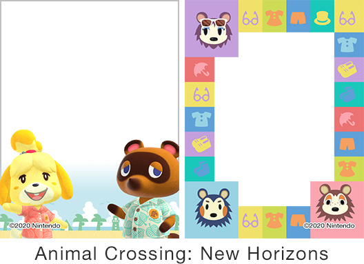 [image]Frame designs samples Animal Crossing: New Horizons