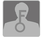 """alt=""""[image] Close up of a man's silhoutte with a large key in the middle"""