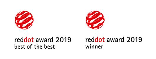 [Logo]reddot award 2019: best of the best / reddot award 2019: winner