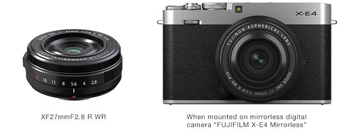 FUJINON Lens XF27mmF2.8 R WR