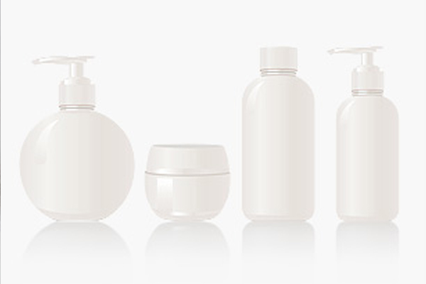 [photo] 4 lotion bottle in different shapes and sizes