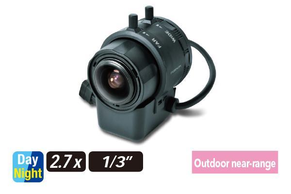 [photo] YV2.7x2.9LR4D-SA2 / SA2L varifocal lens on its side