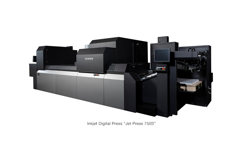 "[Photo]Inkjet Digital Press ""Jet Press 750S"""